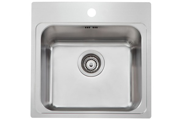 ComboM P40-50 sink with tap area, MONOedge