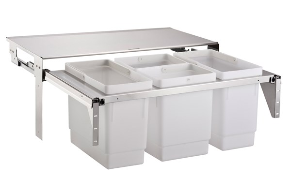 EkoCombo EKOC8-4SK with four bins