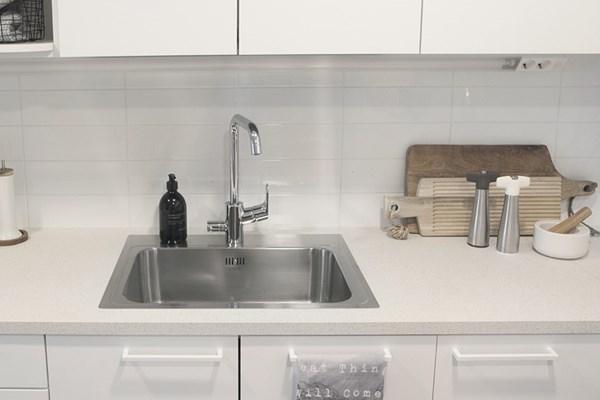 Combo P50 60 Sink With Tap Area Monoedge Stala