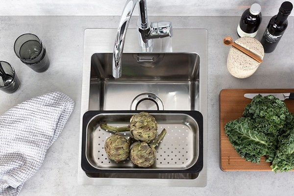 Lagom T34 Modern Kitchen Sink For Small Cabinets Stala