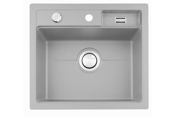 Combo CEG51-57GF grey composite bowl for flush mounting