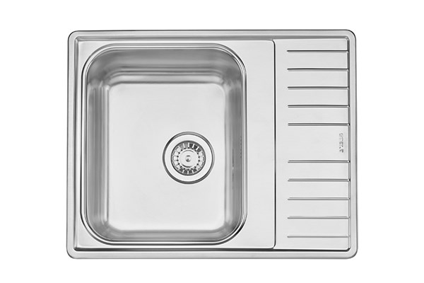 Lyria L40-S, inset sink with short drainboard