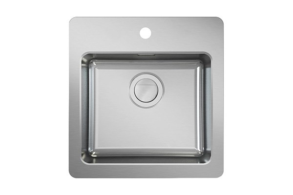 Neo N40-48 modern sink with tap area, MONOedge
