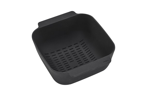 Draining basket SET-1, black